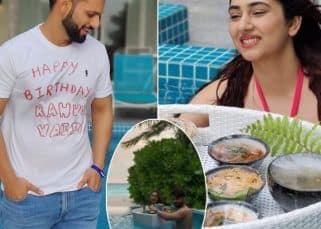 Disha Parmar ने मालदीव में सेलिब्रेट किया पति Rahul Vaidya का बर्थडे, पूल में कपल की रोमांटिक तस्वीरें देख फैंस हुए क्रेजी