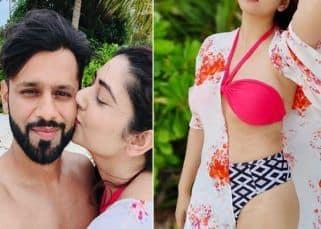 Disha Parmar की बिकिनी फोटोज देखकर खुली रह जाएंगी आंखें, Rahul Vaidya पर लुटाया बेशुमार प्यार