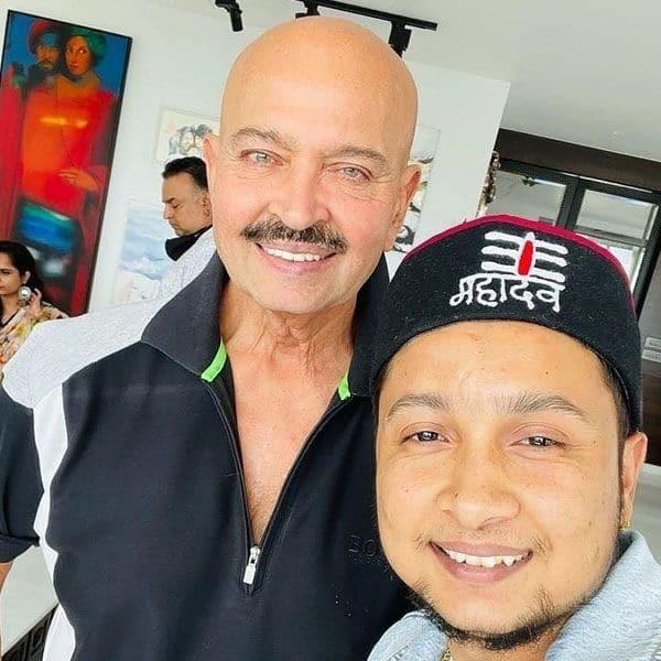 With Rakesh Roshan