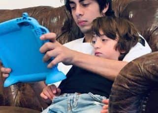 Gauri Khan shares adorable pic of Aryan and AbRam Khan chilling together on their 'boys' night out'