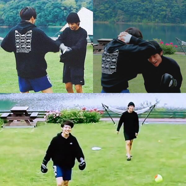 Taehyung and JK's fun moments