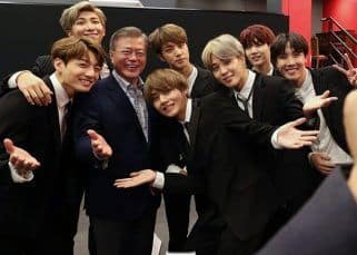 BTS and South Korean President Moon Jae-in discuss their plans for touring and their thoughts on Covid-19