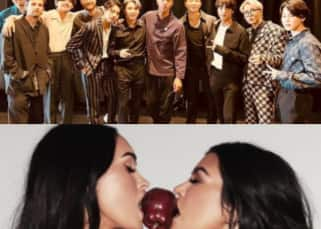 Trending Hollywood news today: BTS' special gift to Coldplay, Meghan Fox and Kourtney Kardashian's topless photoshoot and more