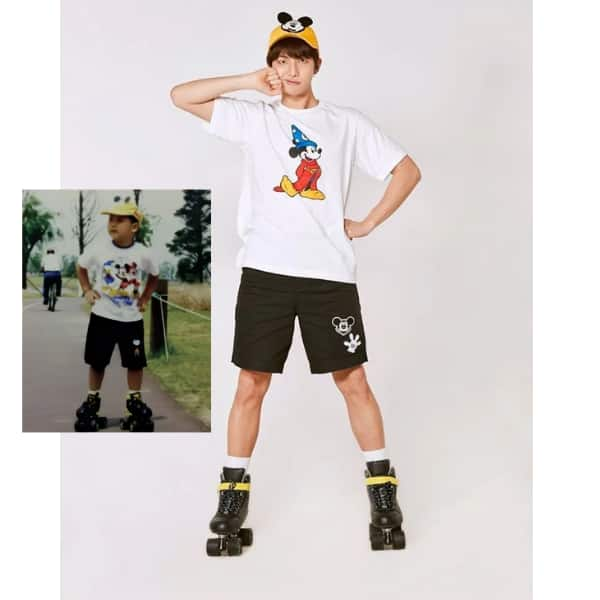 BTS' RM aka Kim Namjoon's childhood picture