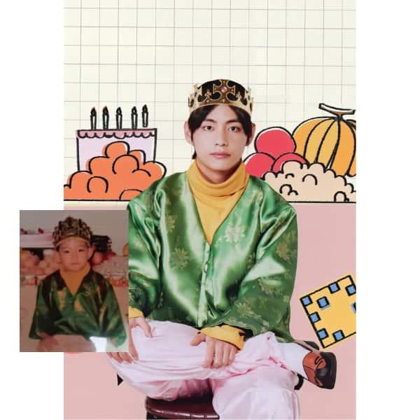 BTS' V aka Kim Taehyung
