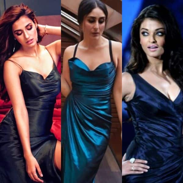 Bollywood actresses in slip dresses