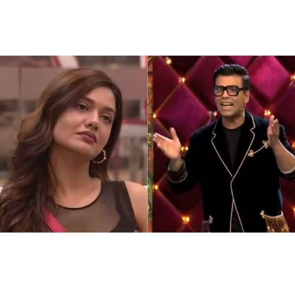Divya and Karan Johar fight it out