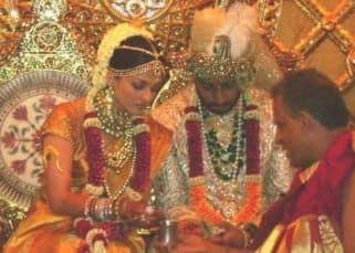 Netizen shares embarrassing picture of Aishwarya Rai Bachchan from her wedding with Abhishek Bachchan; latter reacts