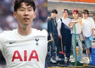 Tottenham Hotspur football star Son Heung Min is in awe of BTS; calls V, Jin, Jimin, J-Hope, Suga, RM, Jungkook 'national heroes'