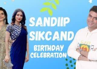 Happy Birthday Sandip Sikcand : एक्ट्रेस करिश्मा तन्ना, अदा ख़ान, दिव्यांका त्रिपाठी आए संदीप सिकंद के बर्थडे सेलिब्रेशन में नज़र