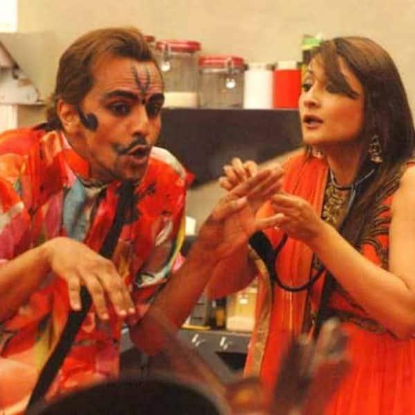 Imam Siddique and Urvashi Dholakia (Season 7)
