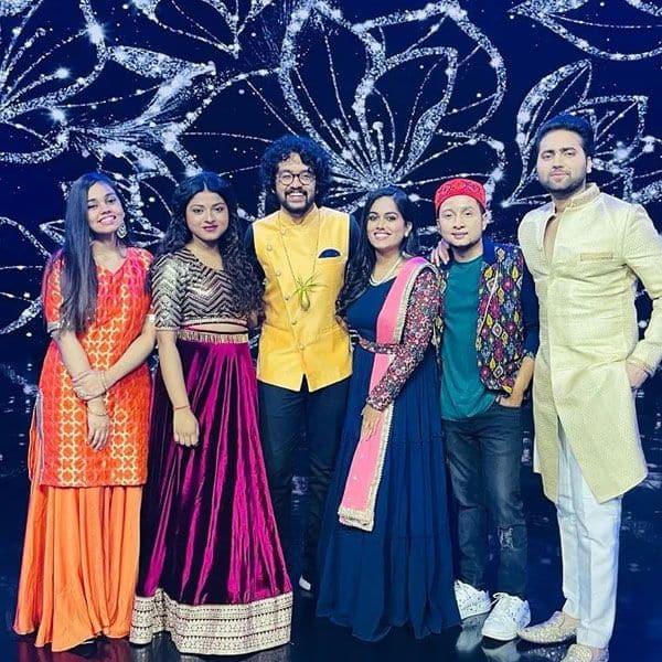 Indian Idol 12 team on Kaun Banega Crorepati 13