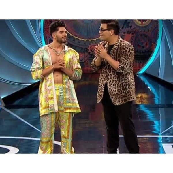 Karan Johar and Zeeshan Khan's argument