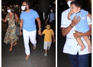 मालदीव से Kareena Kapoor Khan का बर्थडे मनाकर वापस आए Saif Ali Khan, दोनों बच्चे तैमूर-जहांगीर दिखे साथ