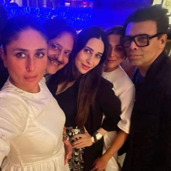 दोस्तों संग करीना कपूर खान ने की जमकर पार्टी