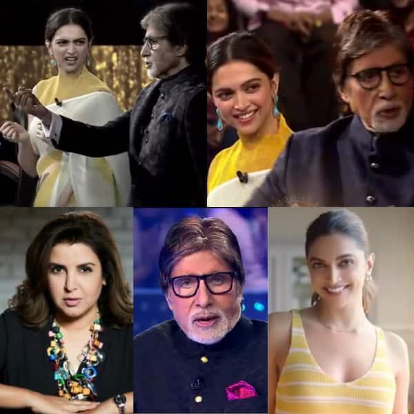 Kaun Banega Crorepati 13: 'Listen to your co-stars,' Deepika Padukone tells Amitabh Bachchan as they perform Om Shanti Om's 'Ek Chutki Sindoor' dialogue