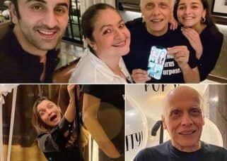 Alia Bhatt ने मनाया Mahesh Bhatt का बर्थडे, Ranbir Kapoor ने बटोरी लाइमलाइट