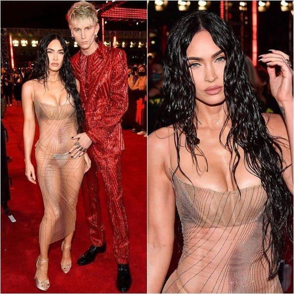 Megan Fox owns MTV VMAs 2021 red carpet