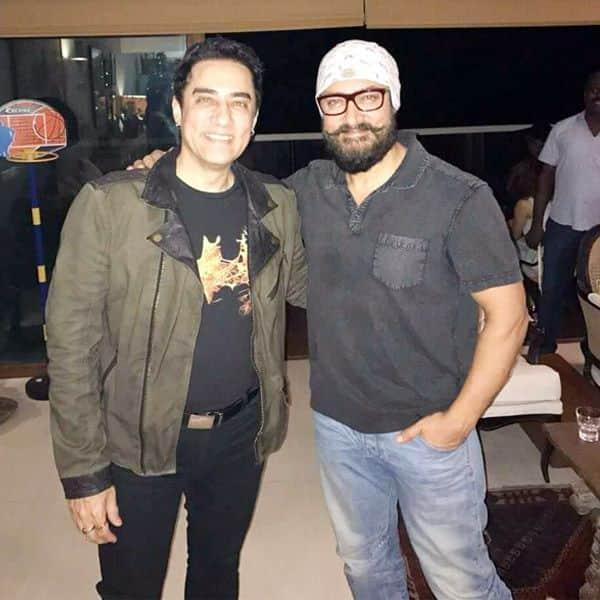 Aamir Khan and Faisal Khan