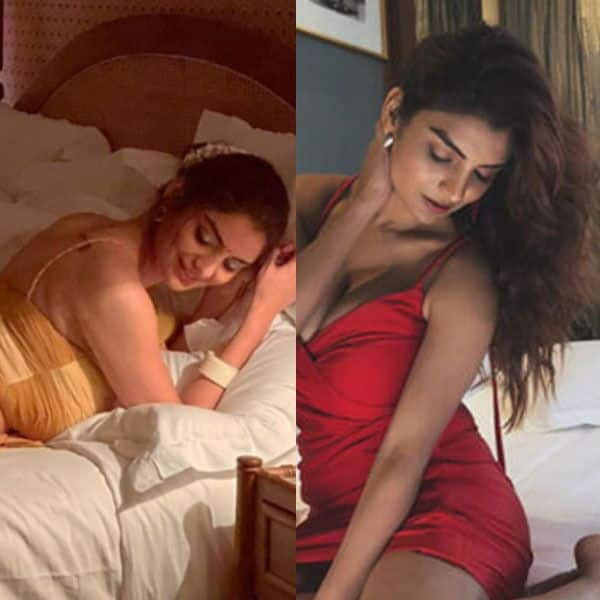 Anveshi Jain flaunts her perfect curves