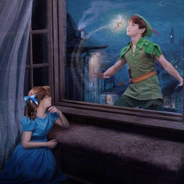 J-Hope as Peter Pan