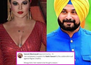 Rakhi Sawant trends on Twitter after AAP member calls her name to taunt Navjot Singh Sidhu; netizens react, 'Misogynistic men need to be taught a lesson'