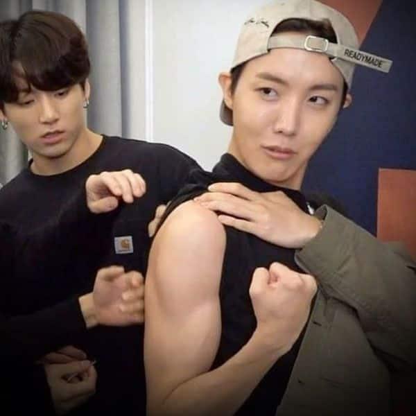 Boy, those biceps!