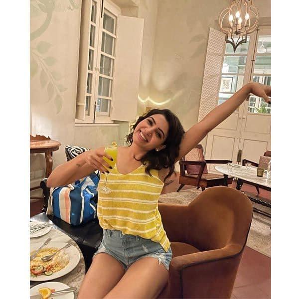Happy and free spirited Samantha Ruth Prabhu