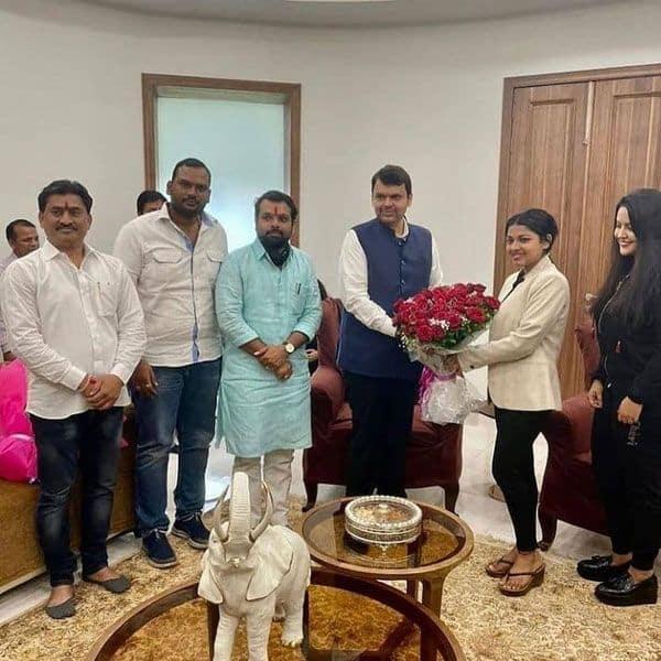 Meeting Devendra Fadnavis