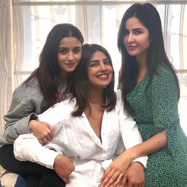 प्रियंका चोपड़ा, आलिया भट्ट और कटरीना कैफ (Priyanka Chopra, Alia Bhatt & Katrina Kaif)