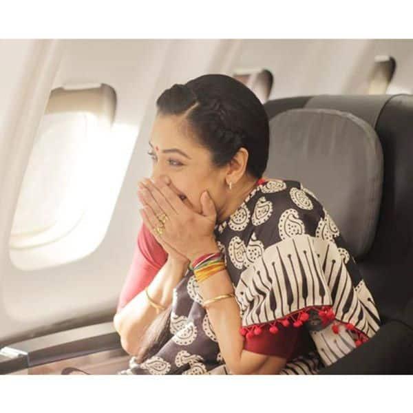 Anu's first flight