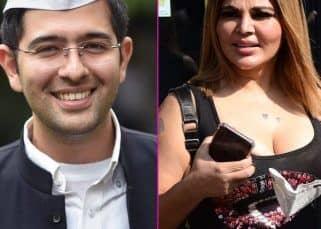 AAP विधायक Raghav Chadha के कंट्रोवर्सियल स्टेटमेंट पर Rakhi Sawant  ने लगाई लताड़, कहा 'तुम्हारा चड्ढा उतार दूंगी..'