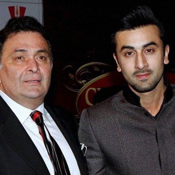 Ranbir Kapoor and Rishi Kapoor