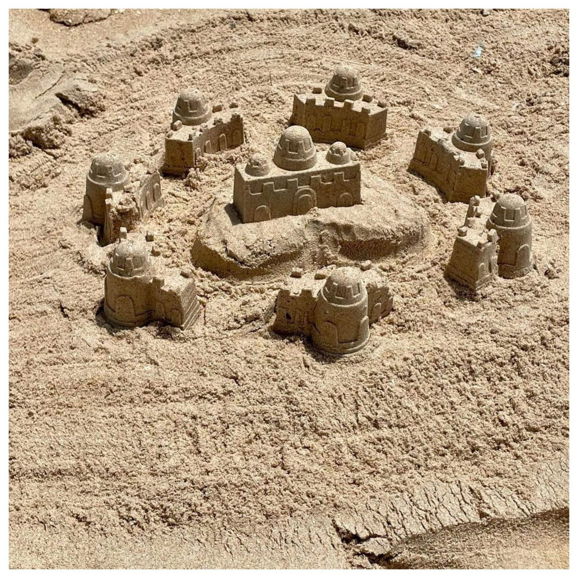 रेत से बनाया अपना साम्राज्य