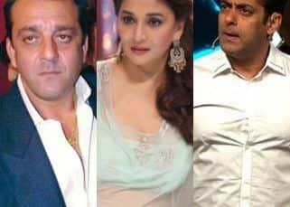 Trivia: Was Madhuri Dixit the reason behind Sanjay Dutt and Salman Khan's fight?
