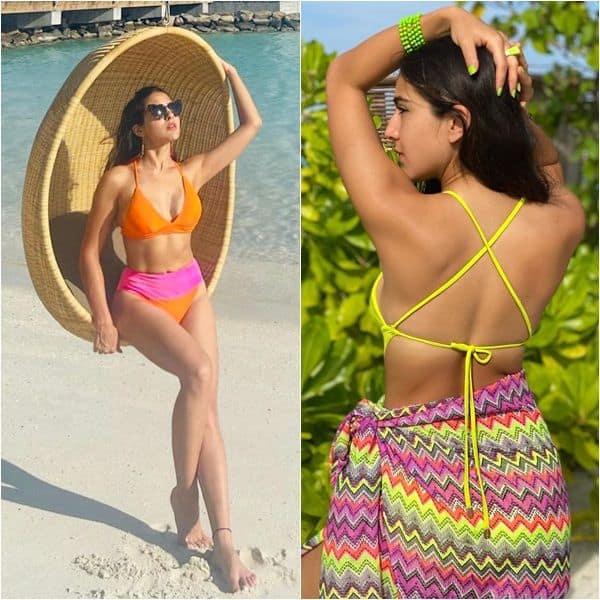 Sara Ali Khan kills it in an exotic string bikini