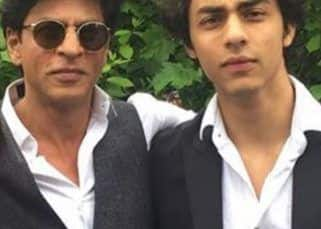 Shah Rukh Khan tries escaping paparazzi in THIS inventive manner but son Aryan Khan isn't so lucky – watch video