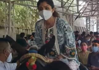 Netizens drag in Raj Kundra's pornograhy case as video of Shilpa Shetty from Vaishno Devi goes viral; 'temple run starts'