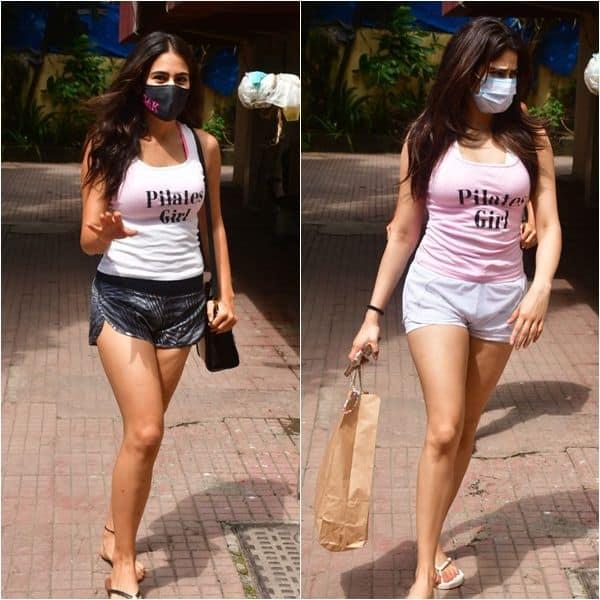 Janhvi Kapoor and Sara Ali Khan's sexiest pair of shorts