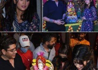 Yeh Rishta Kya Kehlata Hai: Shivangi Joshi ने सेट पर किया गणपति विसर्जन, गायब दिखें Mohsin Khan