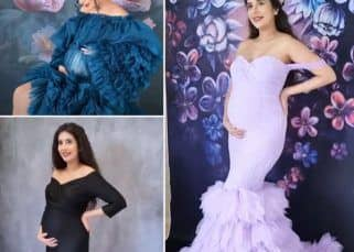 Charu Asopa's maternity photoshoot pictures prove that she is the most gorgeous mommy