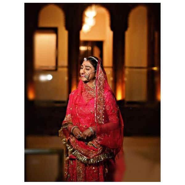 राजस्थानी लहंगों में कमाल लगती हैं मोहिना कुमारी सिंह (Mohena Kumari Singh)