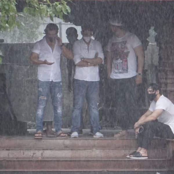 लगातार जारी रही भयंकर बारिश