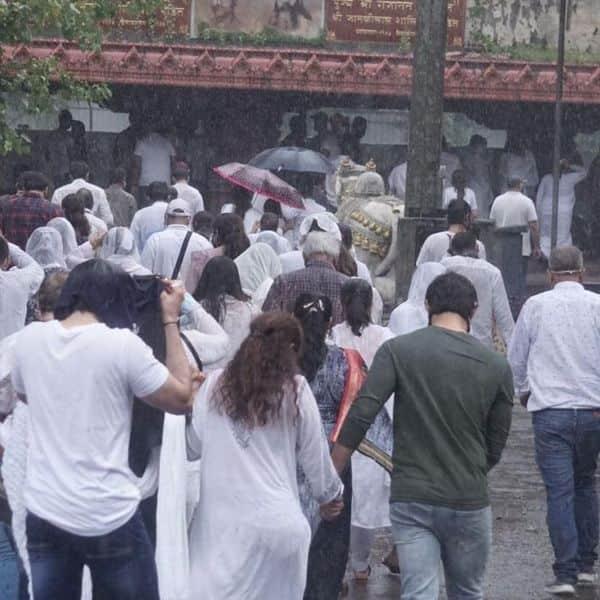 ब्रह्मकुमारी रीति-रिवाज से किया गया अंतिम संस्कार