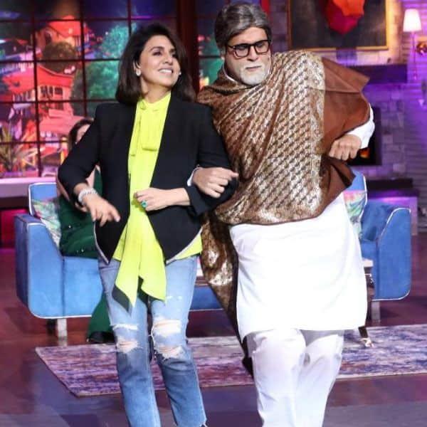 बिग बी के साथ रोमांस करती दिखीं नीतू कपूर (Neetu Kapoor)