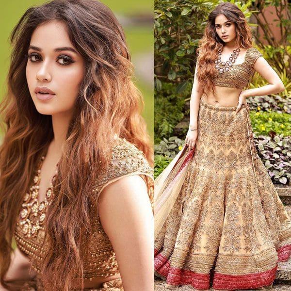 Jannat Zubair's modern day bridal avatar will set your hearts on fire – view pics