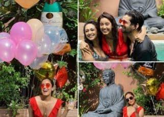 Bigg Boss 12 स्टार Srishty Rode ने बर्थडे के दिन बिकिनी में दिए पोज, पूल पार्टी में खूब जमाया रंग
