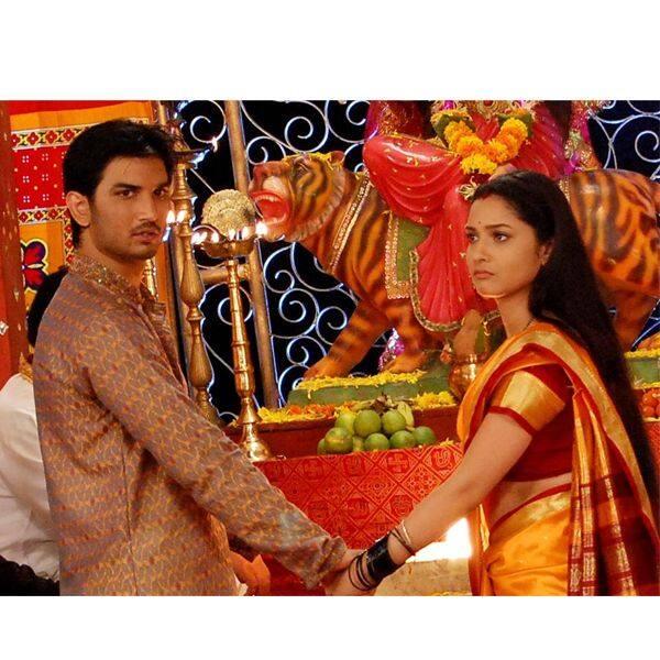 Sushant Singh Rajput and Ankita Lokhande - Pavitra Rishta