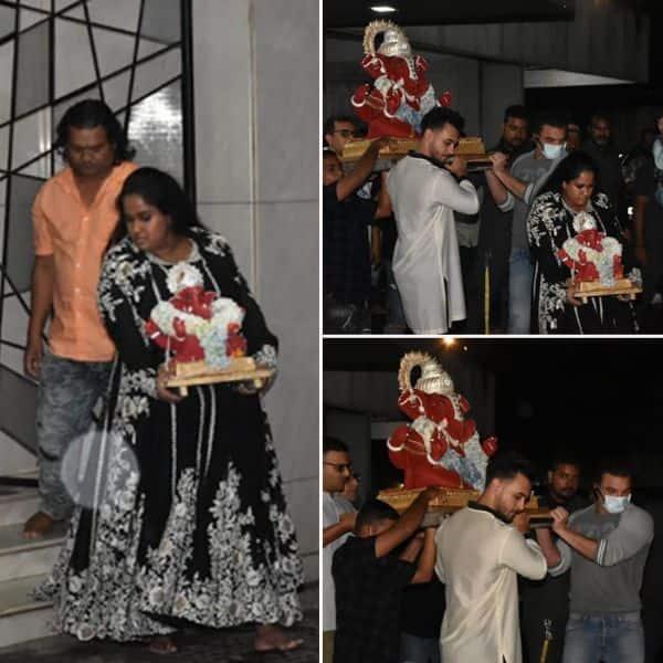 सलमान खान (Salman Khan) की बहन अर्पिता खान (Arpita Khan) ने किया बप्पा को विदा