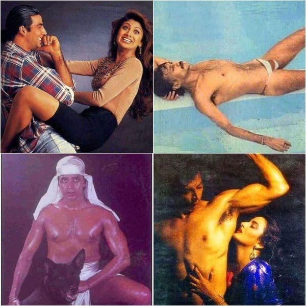 Weirdest photos of Bollywood stars